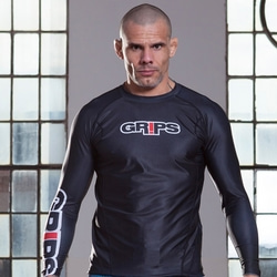 그립스 레쉬가드-MEN'S ARMADURA LONG RASHGUARD_BLACK