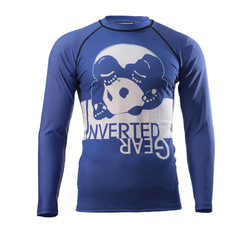 [인버티드 기어] INVERTED GEAR - Long Sleeve Ranked Rash guard [Blue]