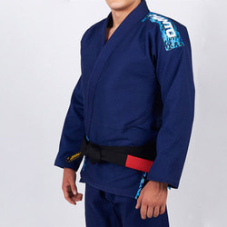만토 주짓수 도복 - Manto CAMO BJJ GI navy blue