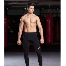 그립스-MENS FULL LENGTH COMPRESSION SPATS / BLACK