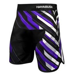 파이트 쇼츠-METARU CHARGED JIU JITSU SHORTS - black/purple
