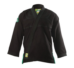 [주짓수도복][인버티드 기어] Inverted Gear-Gold weave panda gi (BLACK)
