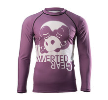 [인버티드 기어]  INVERTED GEAR - Long Sleeve Ranked Rash guard [Purple]
